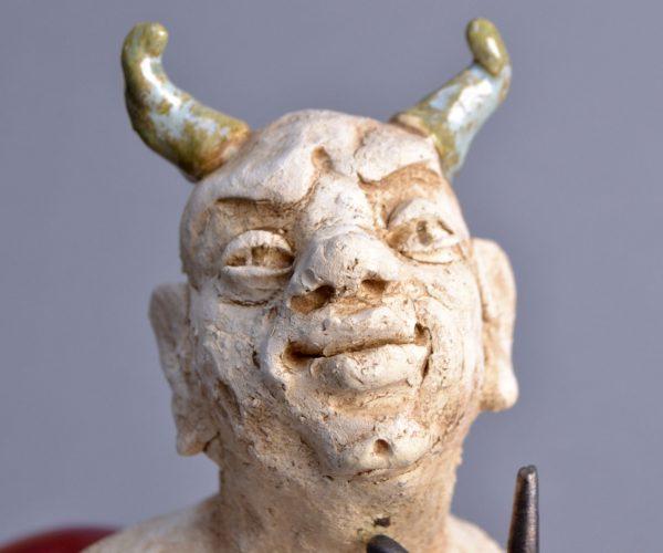 5 Kasia Włoch 'Diabeł' popiersie 3 1