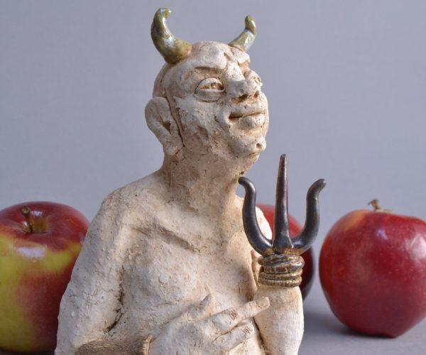 5 Kasia Włoch 'Diabeł' popiersie 3